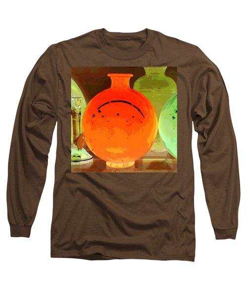 Window Shopping For Glass Long Sleeve T-Shirt