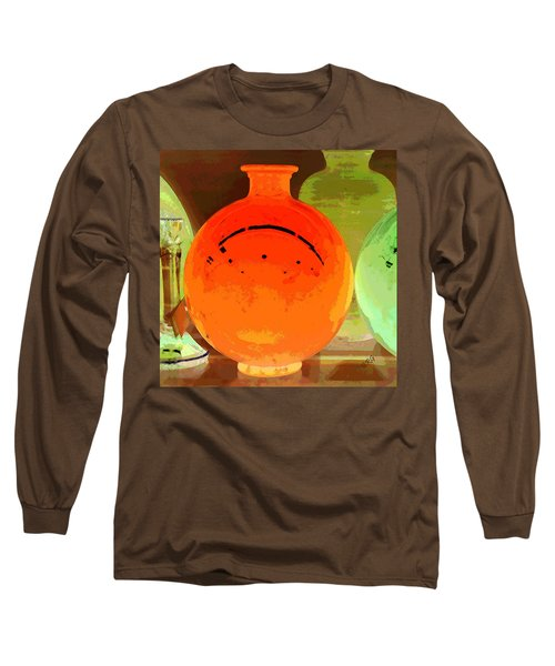 Window Shopping For Glass Long Sleeve T-Shirt