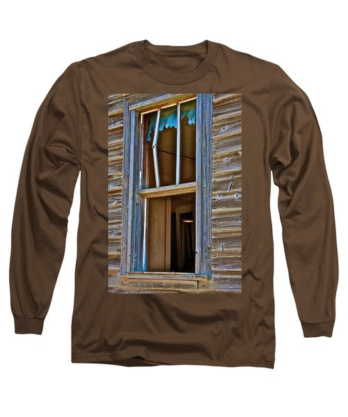 Window With A Light Long Sleeve T-Shirt by Johanna Bruwer
