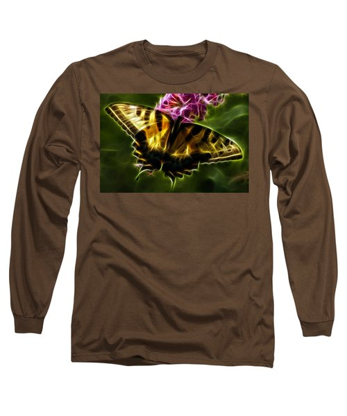 Winged Beauty Long Sleeve T-Shirt by Joann Copeland-Paul