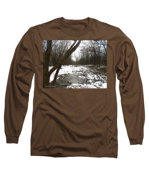 Winter Forest Series Long Sleeve T-Shirt by Verana Stark