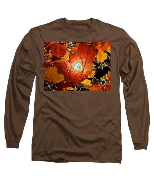 winters autumn in Pasadena Long Sleeve T-Shirt
