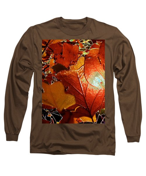 winters autumn in Pasadena Long Sleeve T-Shirt