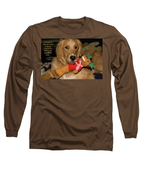 Wish For A Christmas Friend Long Sleeve T-Shirt