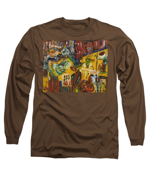 With Coffee To Follow Long Sleeve T-Shirt