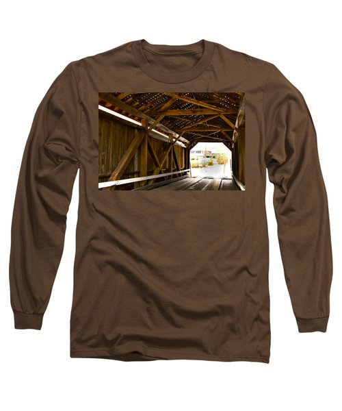 Wood Fame Bridge Long Sleeve T-Shirt