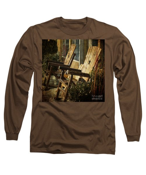 Wooden Chairs Long Sleeve T-Shirt