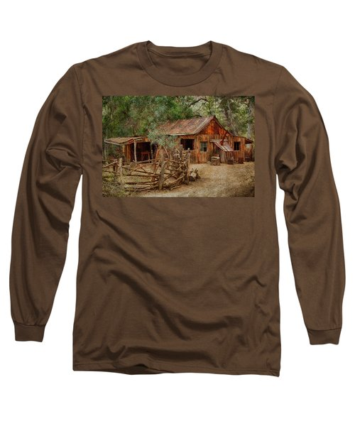 Wool Shed Long Sleeve T-Shirt by Fred Larson