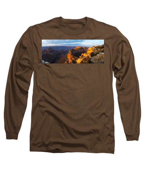 Wotans Throne From Cape Royal, North Long Sleeve T-Shirt