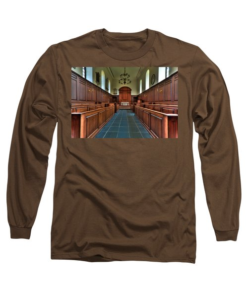Wren Chapel Interior Long Sleeve T-Shirt