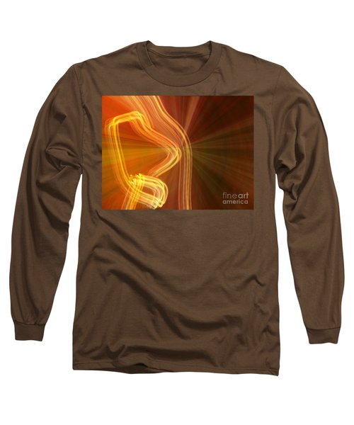 Write Light Shapes Long Sleeve T-Shirt