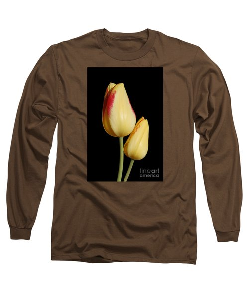 Yellow And Red Tulips  Long Sleeve T-Shirt