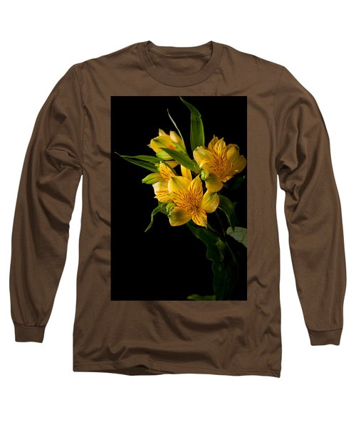 Long Sleeve T-Shirt featuring the photograph Yellow Flowers by Sennie Pierson