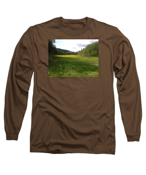 Yellow Meadow Long Sleeve T-Shirt