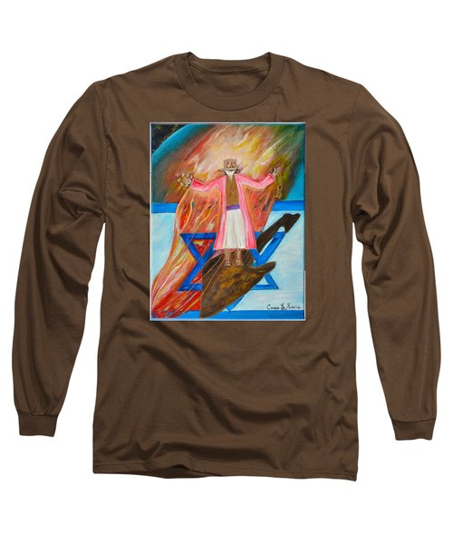 Yeshua Long Sleeve T-Shirt by Cassie Sears