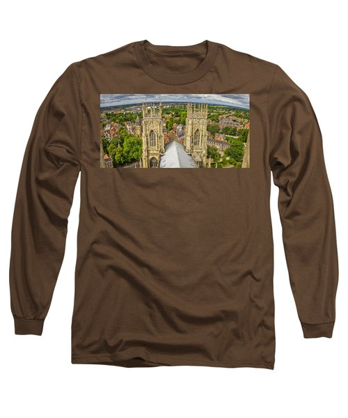 York From York Minster Tower Long Sleeve T-Shirt