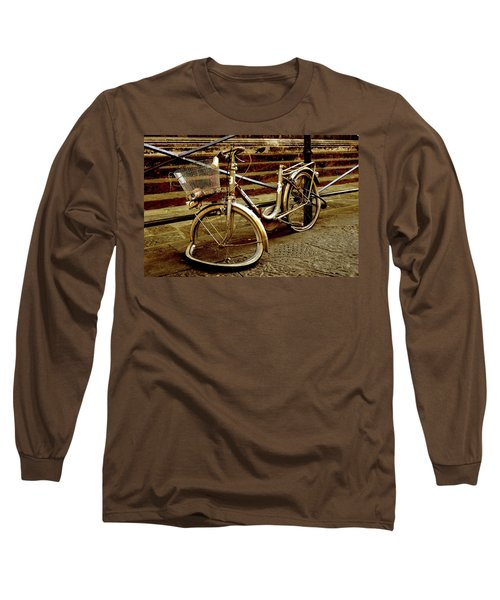 Bicycle Breakdown Long Sleeve T-Shirt