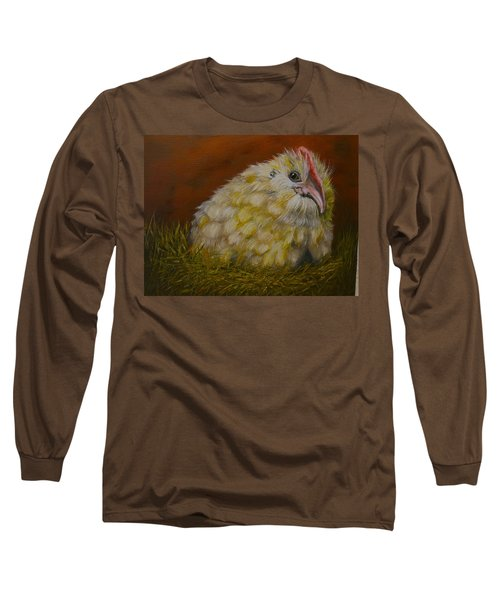 Long Sleeve T-Shirt featuring the painting Hector by Marlyn Boyd