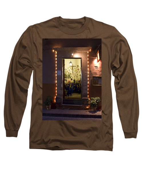 Long Sleeve T-Shirt featuring the photograph Las Cruces by Lynn Palmer