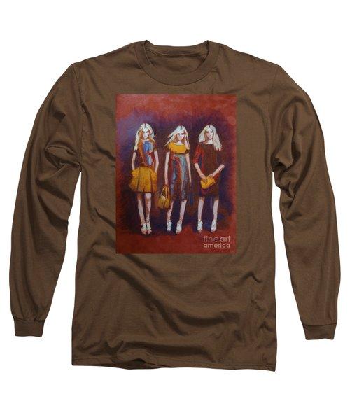 On The Catwalk Long Sleeve T-Shirt