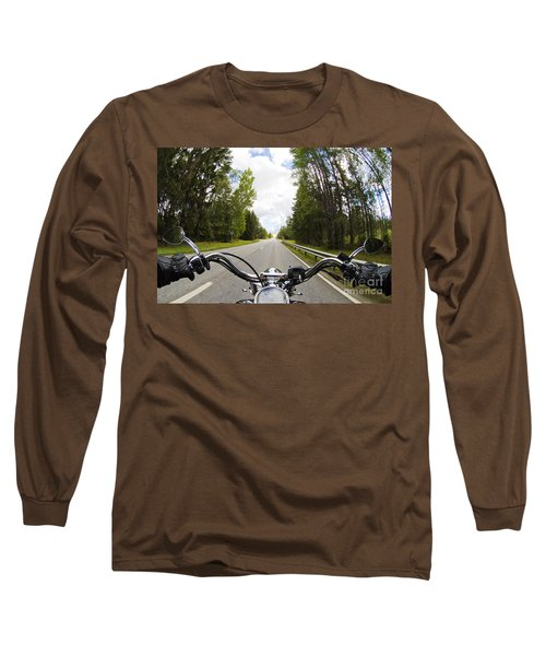 On The Road Long Sleeve T-Shirt by Micah May