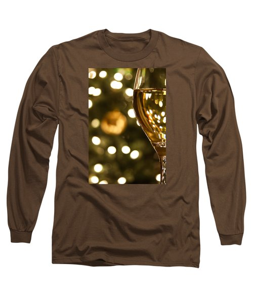 A Drink By The Tree Long Sleeve T-Shirt by Andrew Soundarajan