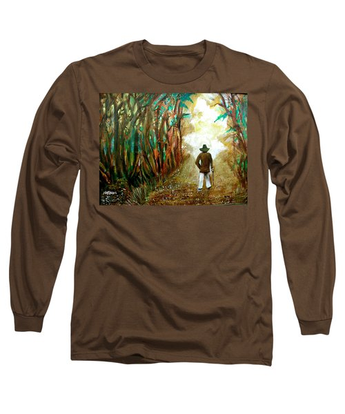 A Fall Walk In The Woods Long Sleeve T-Shirt