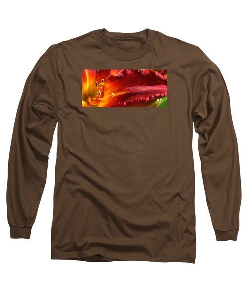 A Ray Of Beauty Long Sleeve T-Shirt by Bruce Bley