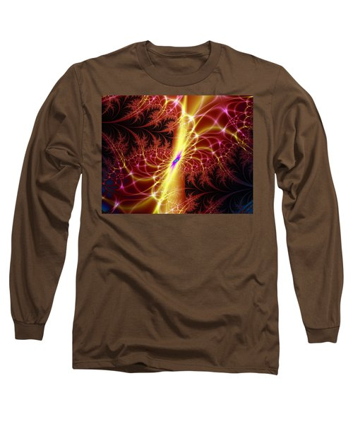 Long Sleeve T-Shirt featuring the digital art A Twist Of Fate by Ester  Rogers