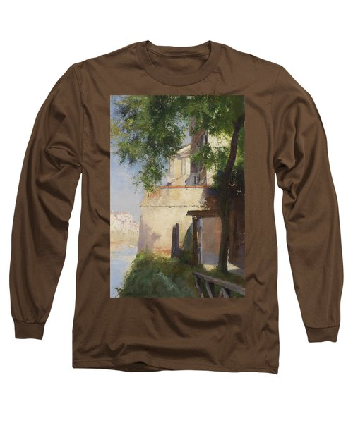 A View Of Venice From A Terrace Long Sleeve T-Shirt