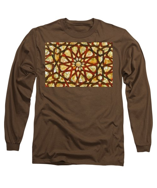 Abstract Art Long Sleeve T-Shirt