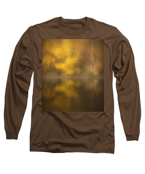 Abstract Birch Reflections Long Sleeve T-Shirt