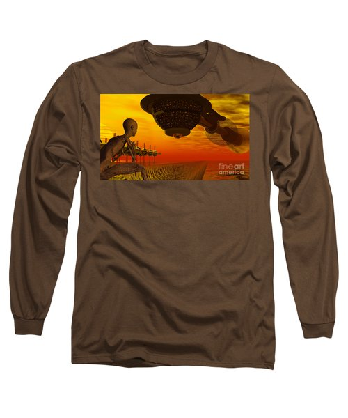 Alien Homecoming Long Sleeve T-Shirt