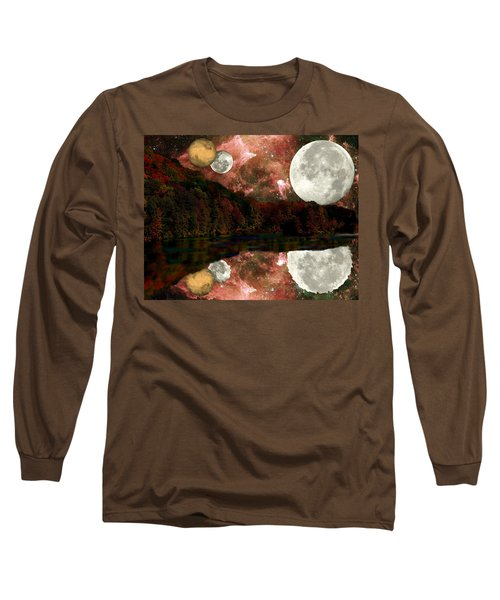 Long Sleeve T-Shirt featuring the photograph Alien World by Sarah McKoy