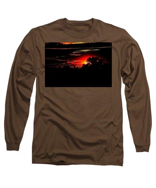 Altered Sunset Long Sleeve T-Shirt