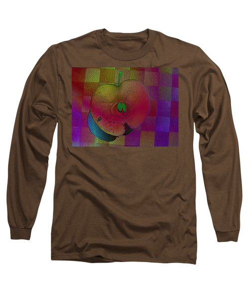 Long Sleeve T-Shirt featuring the photograph Apple Of My Eye by David Pantuso