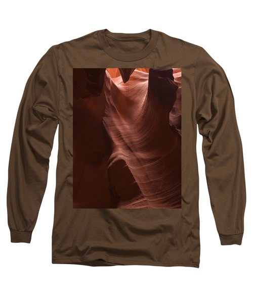 Arizona Slot Canyon Long Sleeve T-Shirt by Andrew Soundarajan