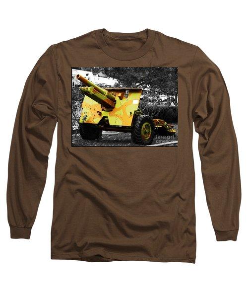 Long Sleeve T-Shirt featuring the photograph Artillery Piece by Blair Stuart