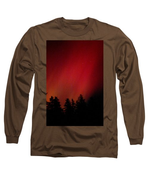 Long Sleeve T-Shirt featuring the photograph Aurora 01 by Brent L Ander