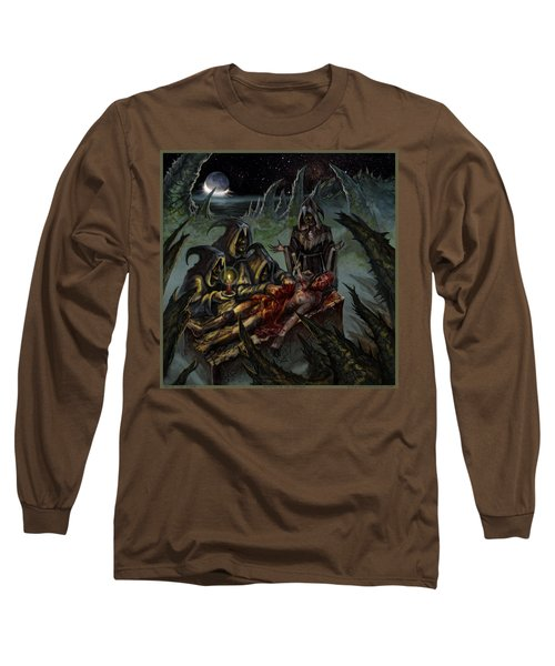 Autopsy Of The Damned  Long Sleeve T-Shirt by Tony Koehl