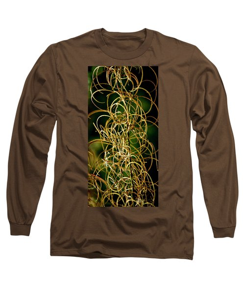 Long Sleeve T-Shirt featuring the photograph Autumn Fireweed by Albert Seger