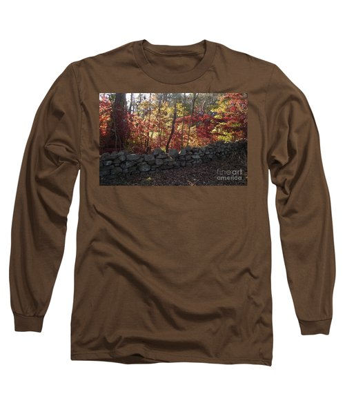 Autumn In New England Long Sleeve T-Shirt