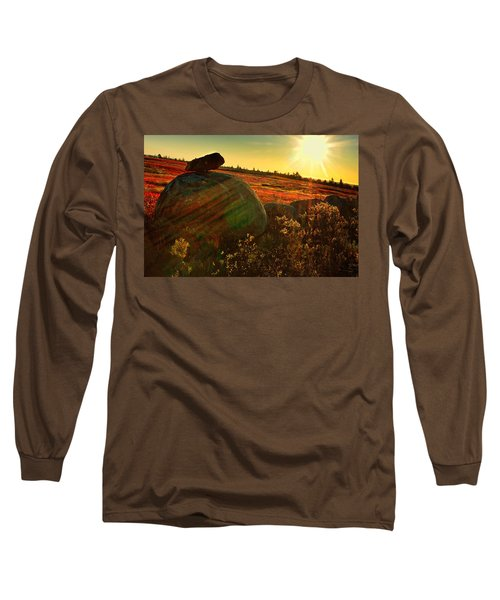 Autumn Morn In The Berry Field Long Sleeve T-Shirt