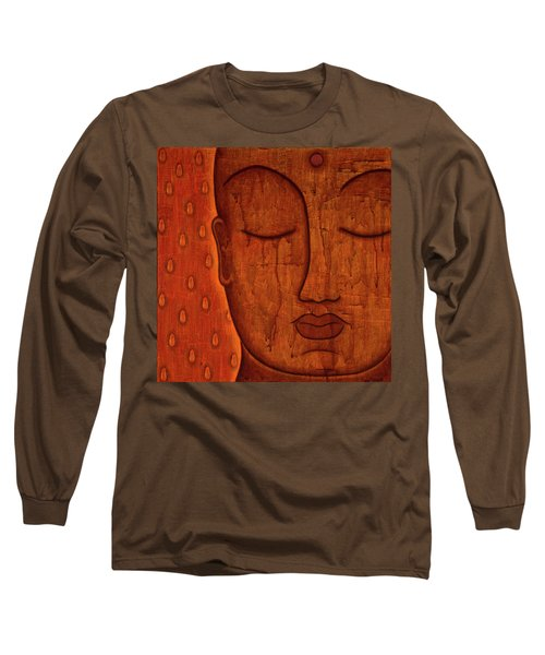 Long Sleeve T-Shirt featuring the mixed media Awakened Mind by Gloria Rothrock