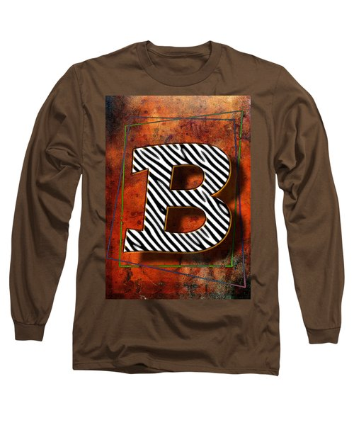 B Long Sleeve T-Shirt