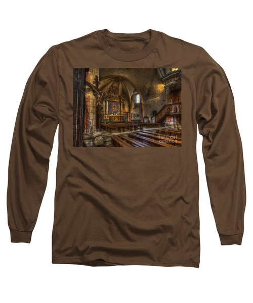 Baroque Church In Savoire France 2 Long Sleeve T-Shirt