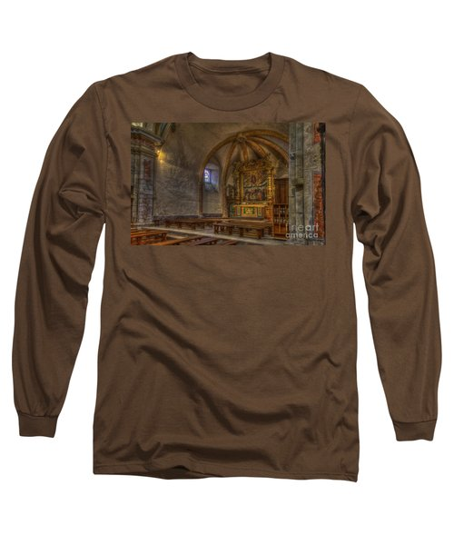 Baroque Church In Savoire France 3 Long Sleeve T-Shirt