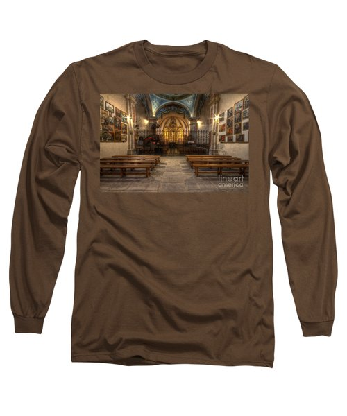 Baroque Church In Savoire France 4 Long Sleeve T-Shirt