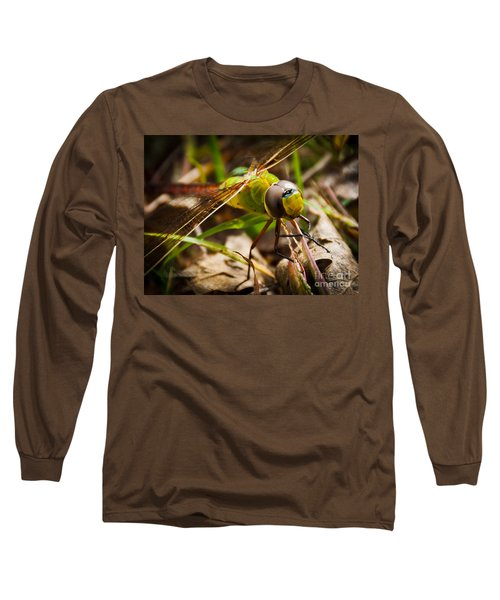 Long Sleeve T-Shirt featuring the photograph Big Brown Eyes by Cheryl Baxter