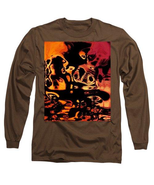 Blasphemy Swirls Long Sleeve T-Shirt